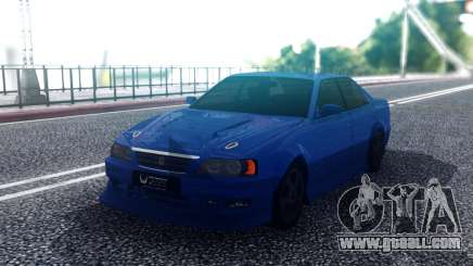Toyota Chaser Blue Sedan for GTA San Andreas