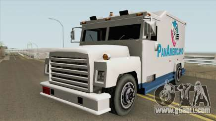 Camion Panamericano (Securicar) SA Style for GTA San Andreas