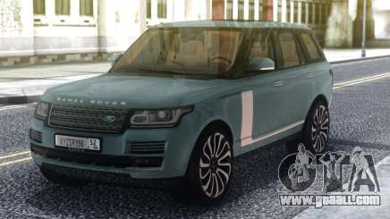Range Rover SVA Classic for GTA San Andreas