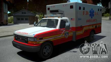 Vapid Ambulance Retro for GTA 4