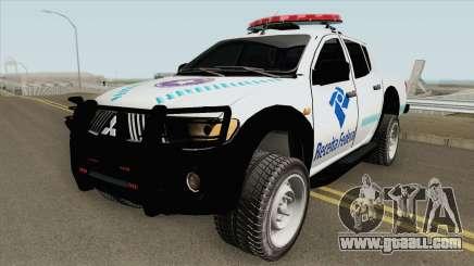 Mitsubishi L200 Receita Federal for GTA San Andreas