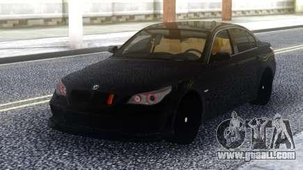BMW M5 E60 Black Stock for GTA San Andreas