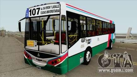 Linea 107 Metalpar Iguazu II Agrale MT15 Interno for GTA San Andreas