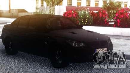 BMW M5 E60 Black Sedan for GTA San Andreas