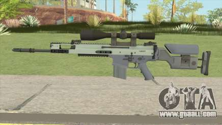CS-GO SCAR-20 (Stormfront Skin) for GTA San Andreas