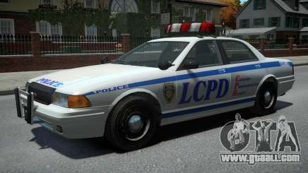 Vapid Police Cruiser v1.2 for GTA 4