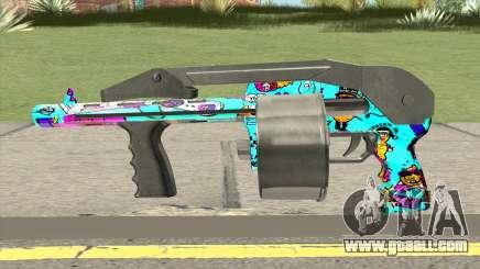 Shotgun (Cartoon Skin) for GTA San Andreas
