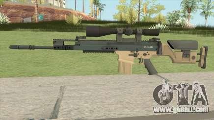 CS-GO SCAR-20 (PMC Skin) for GTA San Andreas