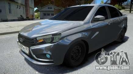 Lada Vesta Sedan for GTA 4
