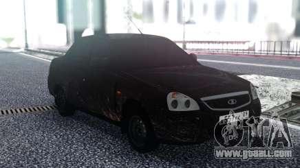 VAZ 2170 Dirty for GTA San Andreas