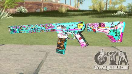 M4 (Cartoon Skin) for GTA San Andreas