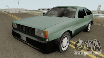 Volkswagen Gol GTi 1990 Beta 2 TCGTABR for GTA San Andreas