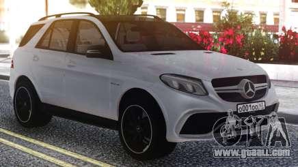 Mercedes-Benz GLE 63s FIX Gray for GTA San Andreas
