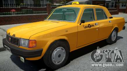 GAZ-31029 Taxi Yellow for GTA 4