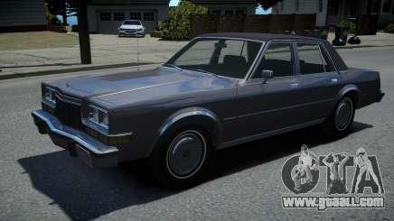 Dodge Diplomat 1983 for GTA 4