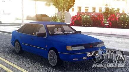 Ford Scorpio Blue for GTA San Andreas