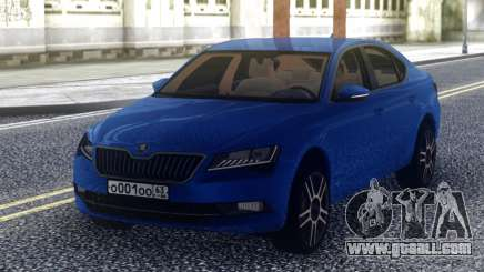 SKODA Superb 2017 Indigo for GTA San Andreas