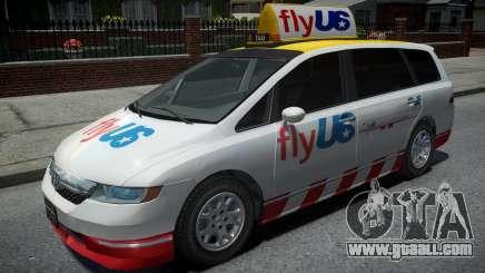 Honda Odyssey FlyUS 2006 for GTA 4