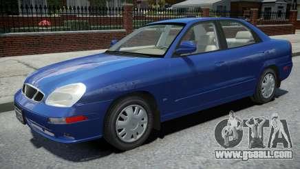 Daewoo Nubira II Sedan 2000 for GTA 4