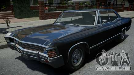 Declasse Impaler Super Sedan Supernatural for GTA 4