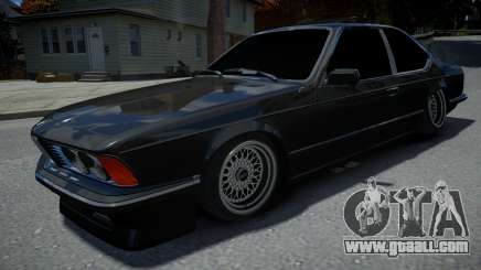 BMW M6 E24 1986 for GTA 4