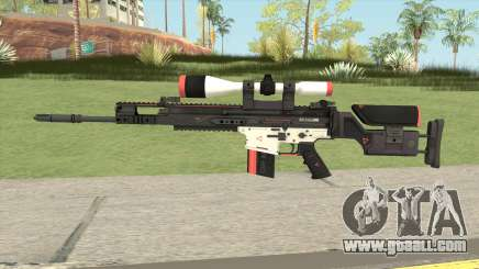 CS-GO SCAR-20 (Cyrex Skin) for GTA San Andreas