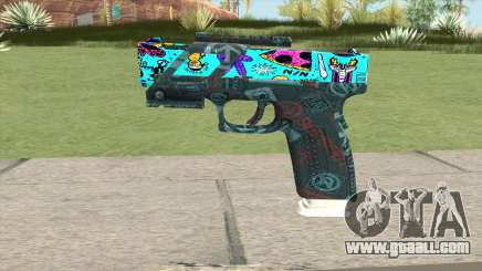 Desert Eagle (Cartoon Skin) for GTA San Andreas