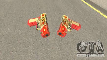 Rules of Survival G18C Suzaku for GTA San Andreas