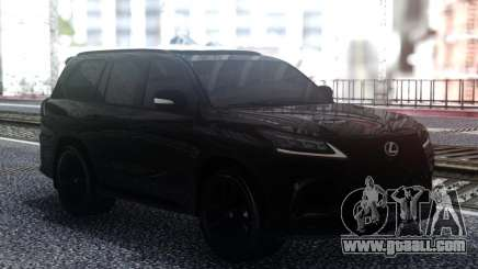 Lexus LX570 Superior Black Edition for GTA San Andreas