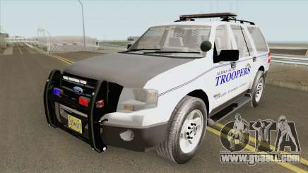 Ford Expedition 2008 (Alaska State Trooper) for GTA San Andreas