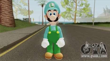Luigi De Hielo (New Super Mario Bros) for GTA San Andreas