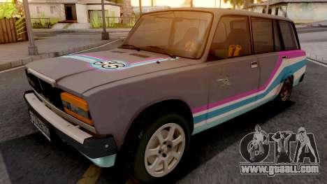 VAZ 2104 Drift Sport Car for GTA San Andreas