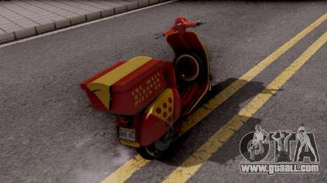 Vespa N 50 for GTA San Andreas