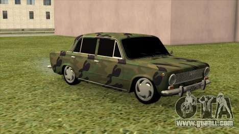 VAZ 2101 Camouflage for GTA San Andreas