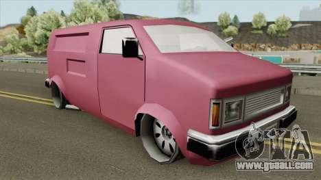 Pony Disco Van for GTA San Andreas
