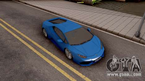 Lamborghini Huracan LP-700 for GTA San Andreas