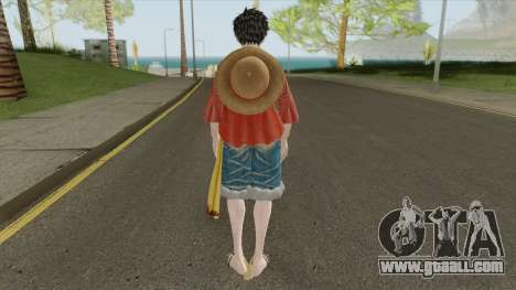 Monkey D. Luffy (Jump Force) for GTA San Andreas