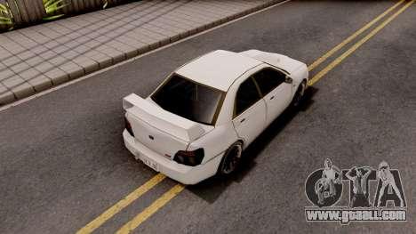 Subaru Impreza WRX STI 2007 SA Style for GTA San Andreas