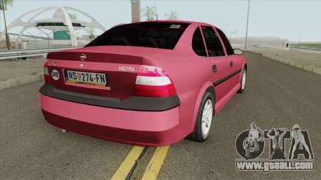 Opel Vectra B Stock for GTA San Andreas