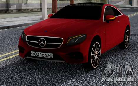 Mercedes-Benz E400 W213 Coupe RED for GTA San Andreas