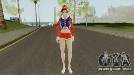 D.Va WaveRacer From Overwatch for GTA San Andreas
