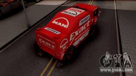 MAN TGA Dakar for GTA San Andreas