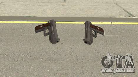 Hawk And Little Pistol (Black Tint) V1 GTA V for GTA San Andreas