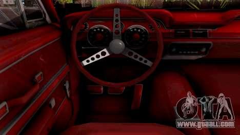 Ford Mustang Fastback GT390 Bullitt 1968 Custom for GTA San Andreas