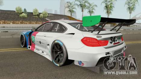 BMW M6 GT3 2018 for GTA San Andreas