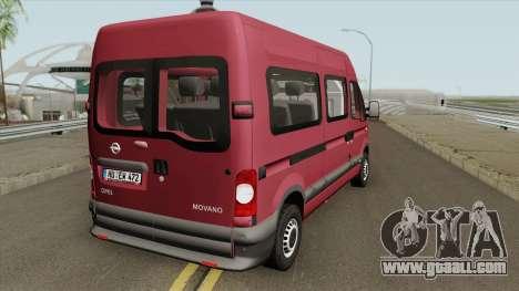 Opel Movano (Long Kombi V2) for GTA San Andreas