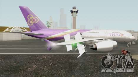 Airbus A380-800 (Thai Airways Livery) for GTA San Andreas