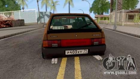 Lada 2113 Festival Stance for GTA San Andreas