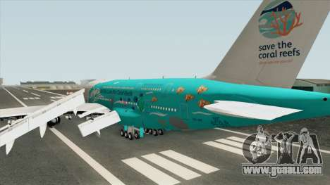 Airbus A380-800 (HiFly Livery) for GTA San Andreas
