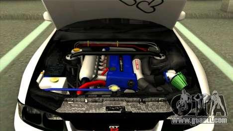 Nissan Skyline GTR 33 for GTA San Andreas